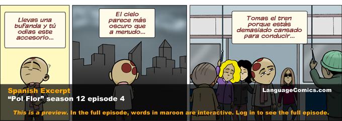 cartoon in spanish with english subtitles